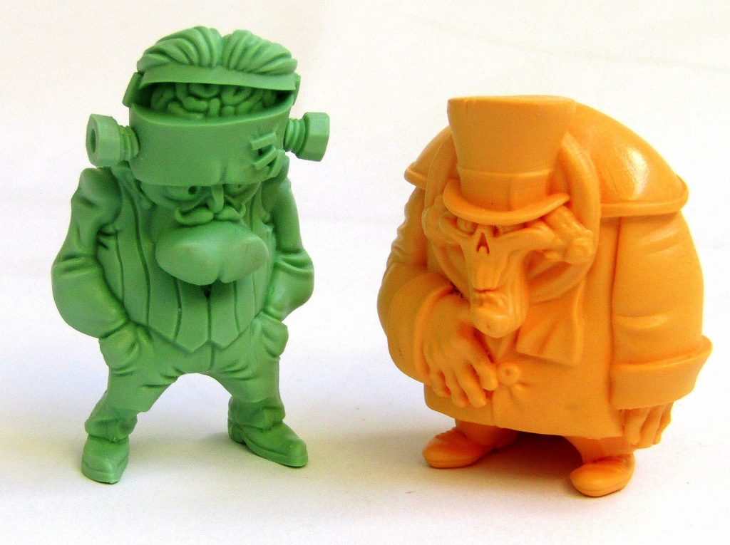 Frankenhipster y MrSpookinson Art Toy Resin Toy Alex Gallego