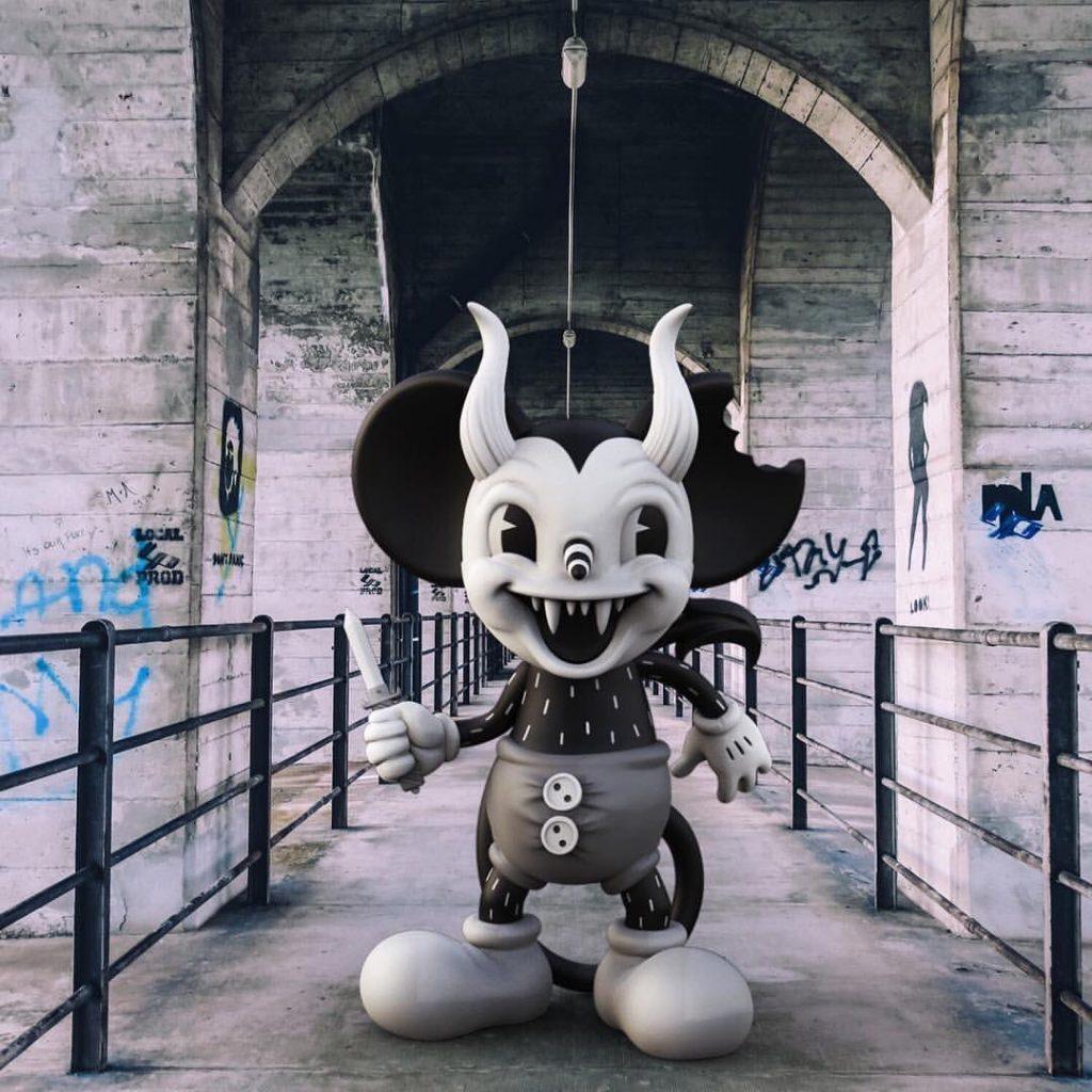 Michael Murder Mouse - Junk Yard - Mighty Jaxx-min
