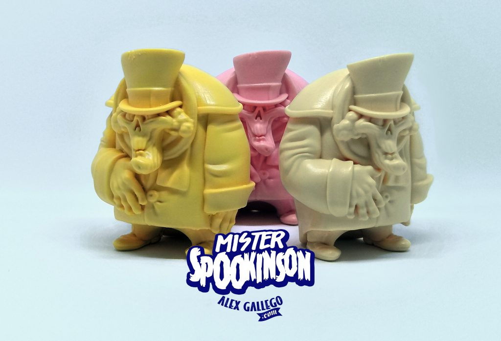 MrSpookinson Art Toy Resin Toy Alex Gallego