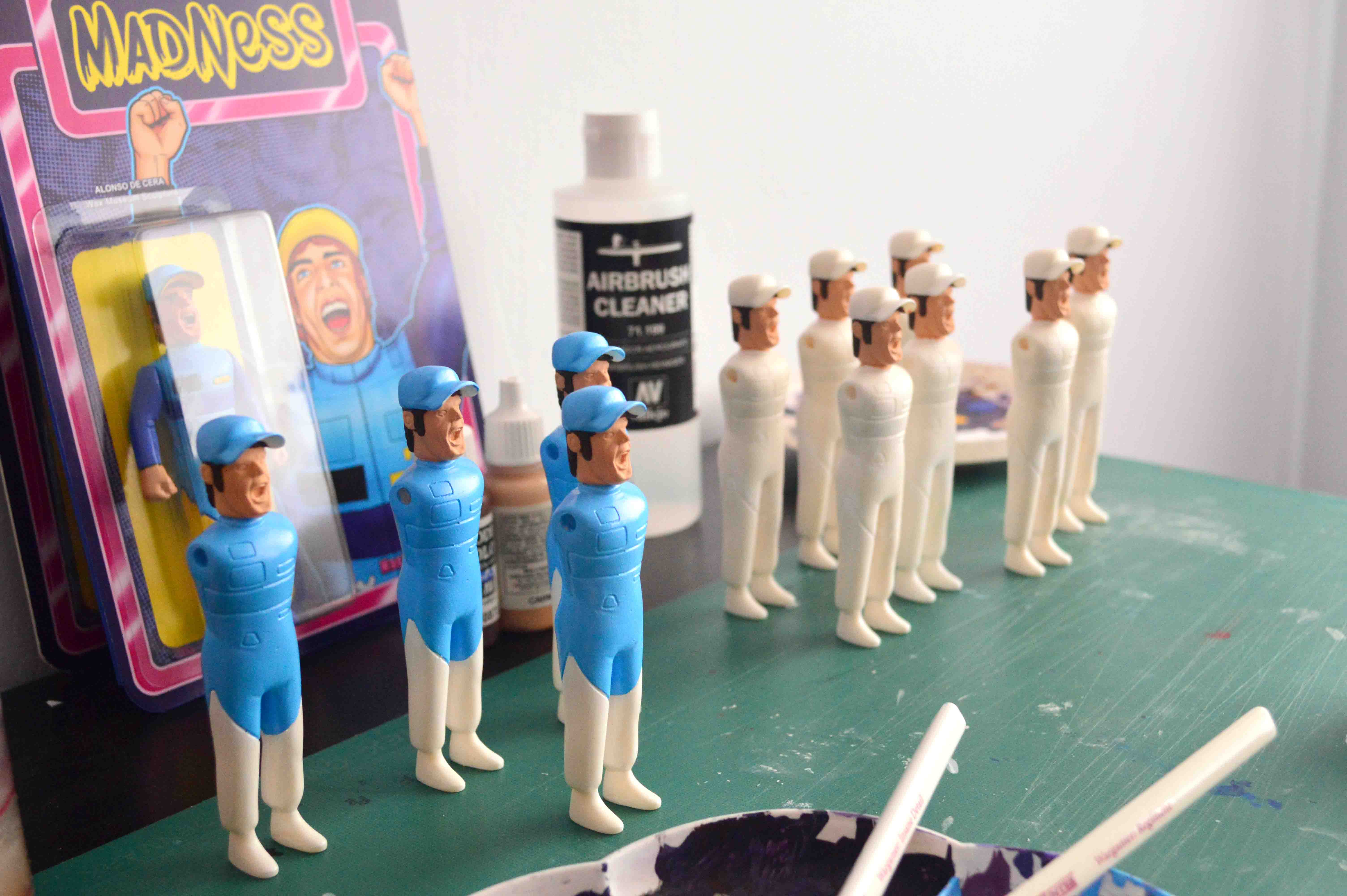 Museum Madness Fernando Alonso Nastytheplastic Art Toy