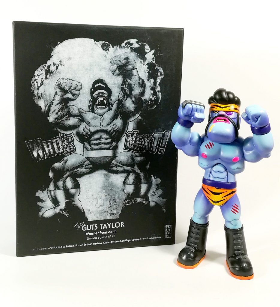 Tiger GutsTaylor Rultron Resin Toy
