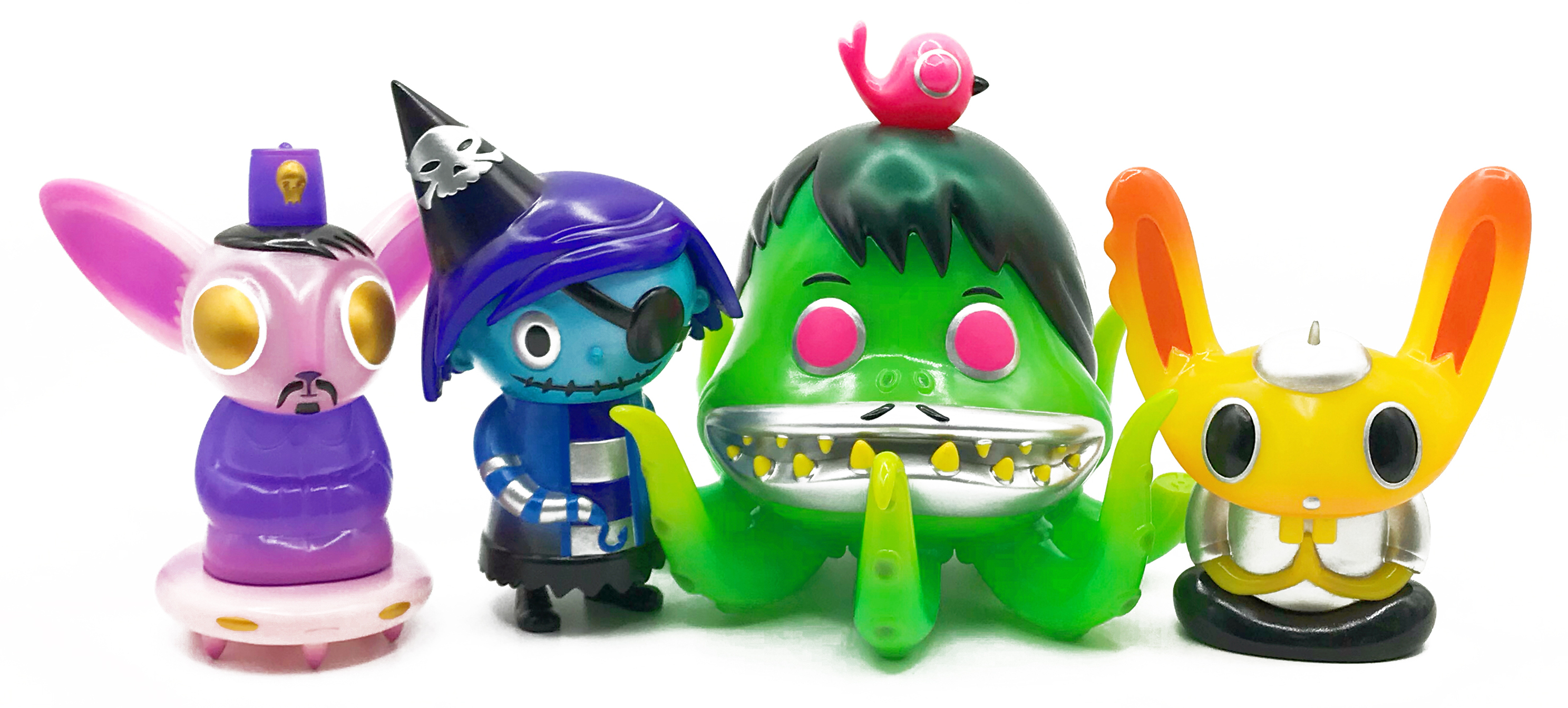 """Scarygirl"" Sofubi Collectible Figure Series"