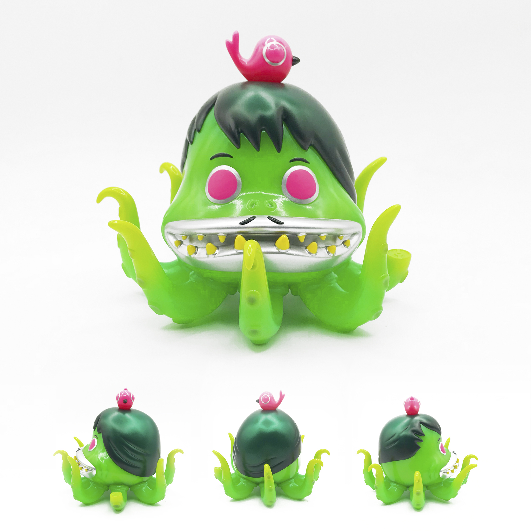 """Scarygirl"" Sofubi Collectible Figure Series (Blister & Sass Original Version)"