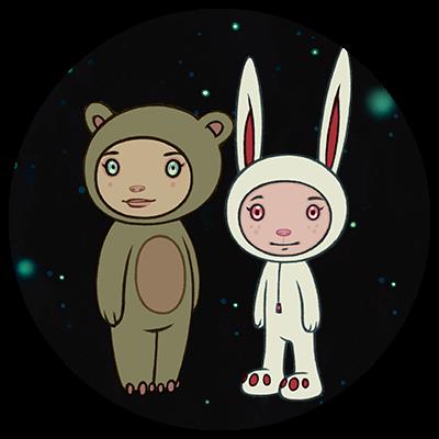 Astra & Orbit y Stellar Dream Scouts de Tara Mcpherson x Kidrobot
