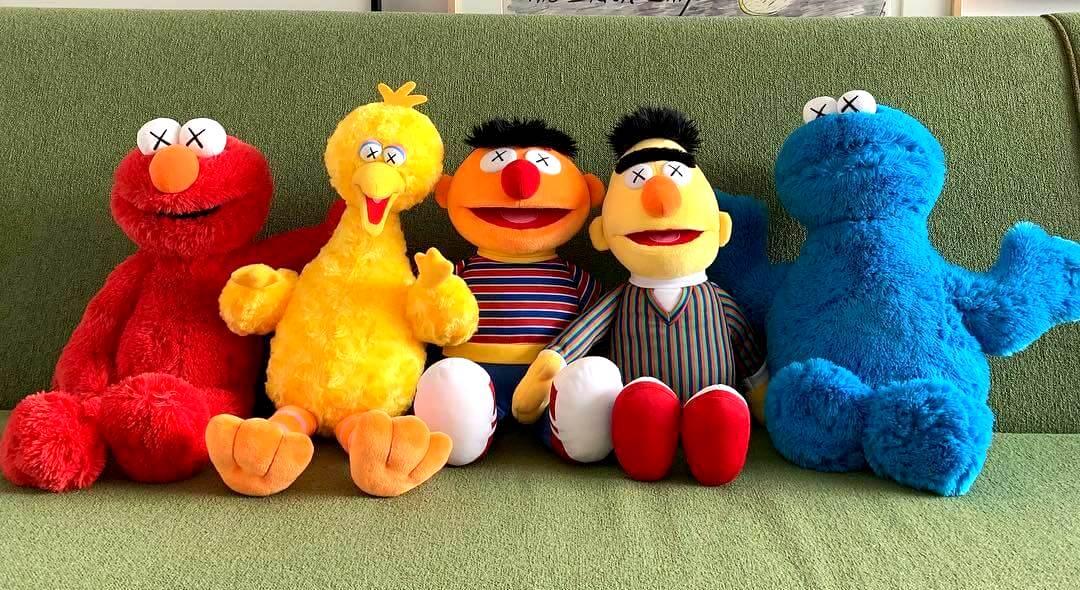 Kaws x Sesame Street x Uniqlo x UT