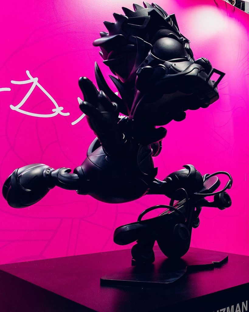 LouisDeGuzman_ElevateVinylSculpture Bart Simpson