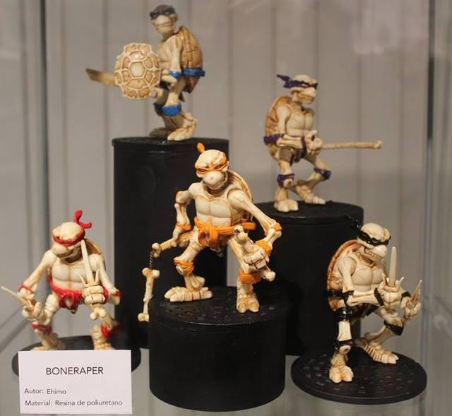 Plastico x Resina - Expo Art Toys Malaga (Ehimoadventures )