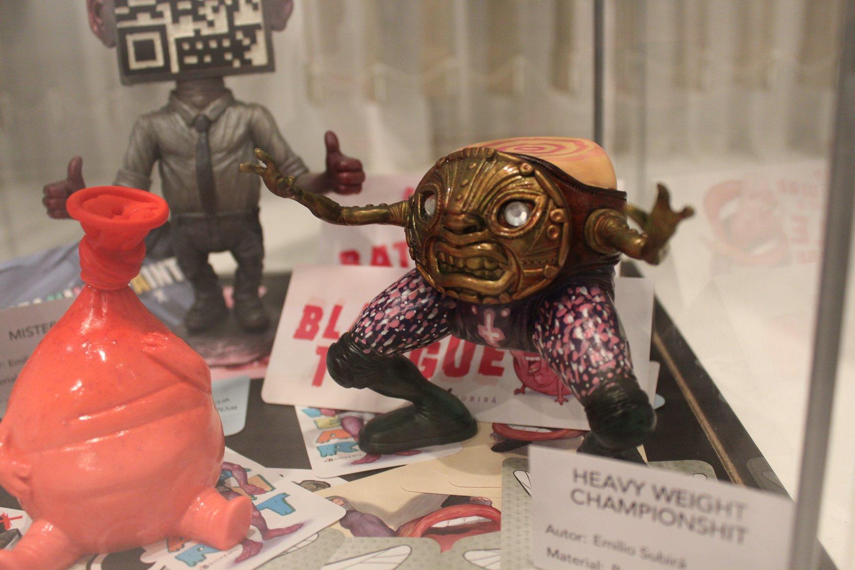 Plastico x Resina - Expo Art Toys Malaga (Emilio Subira)-min