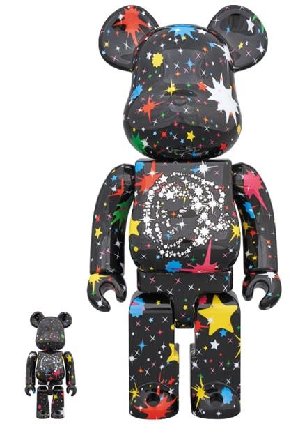 Billionaire Boys Club 'Starfield Black' Bearbrick-min
