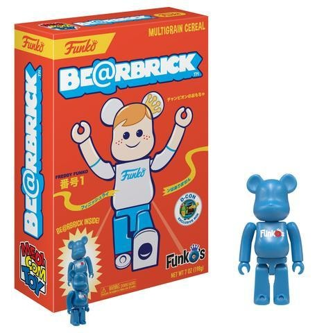FunkO's Cereal Exclusive - Be@rbrick Bearbrick x Funko-min