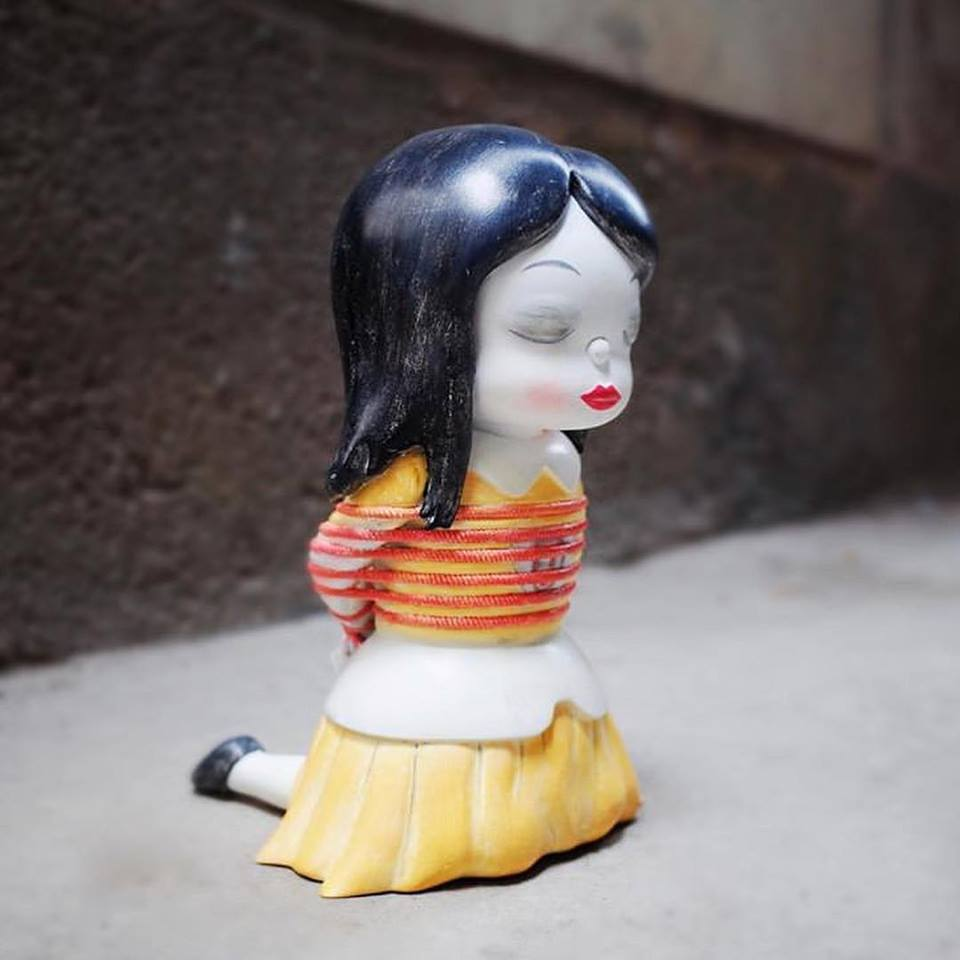 Gary Baseman Kazans Sofubi Serie Apportfolio Art Toys