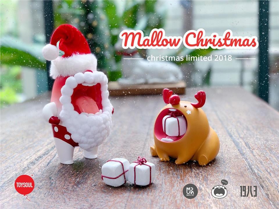 Mallow Summer Santa y Mochi Reindeer de Mupa Toy (1)
