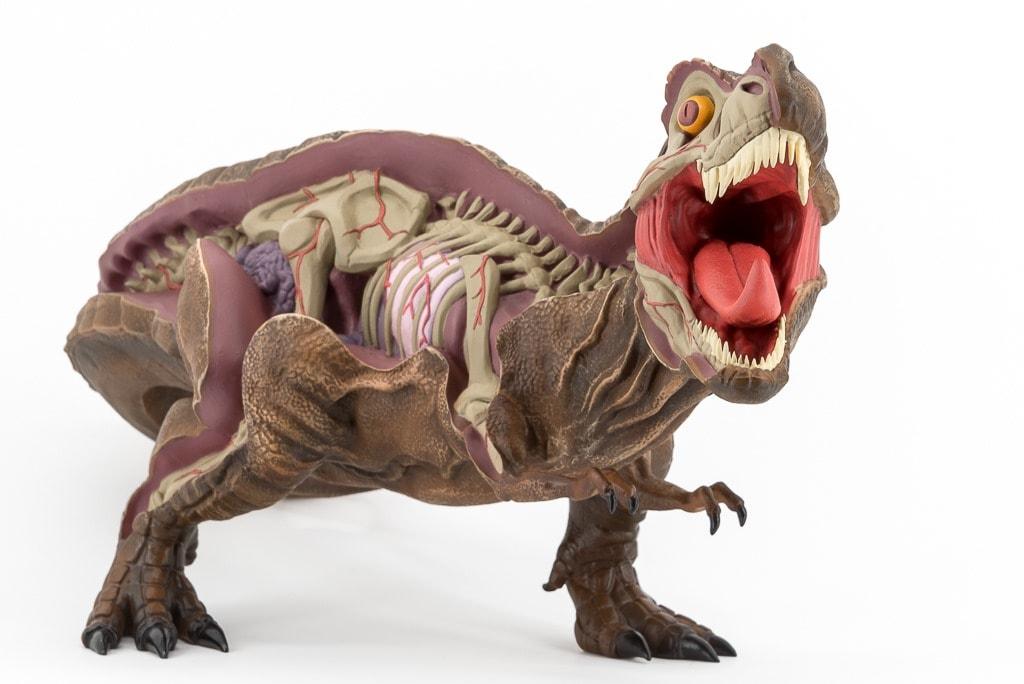 Nychos T-Rex Art Toy 3D Retro