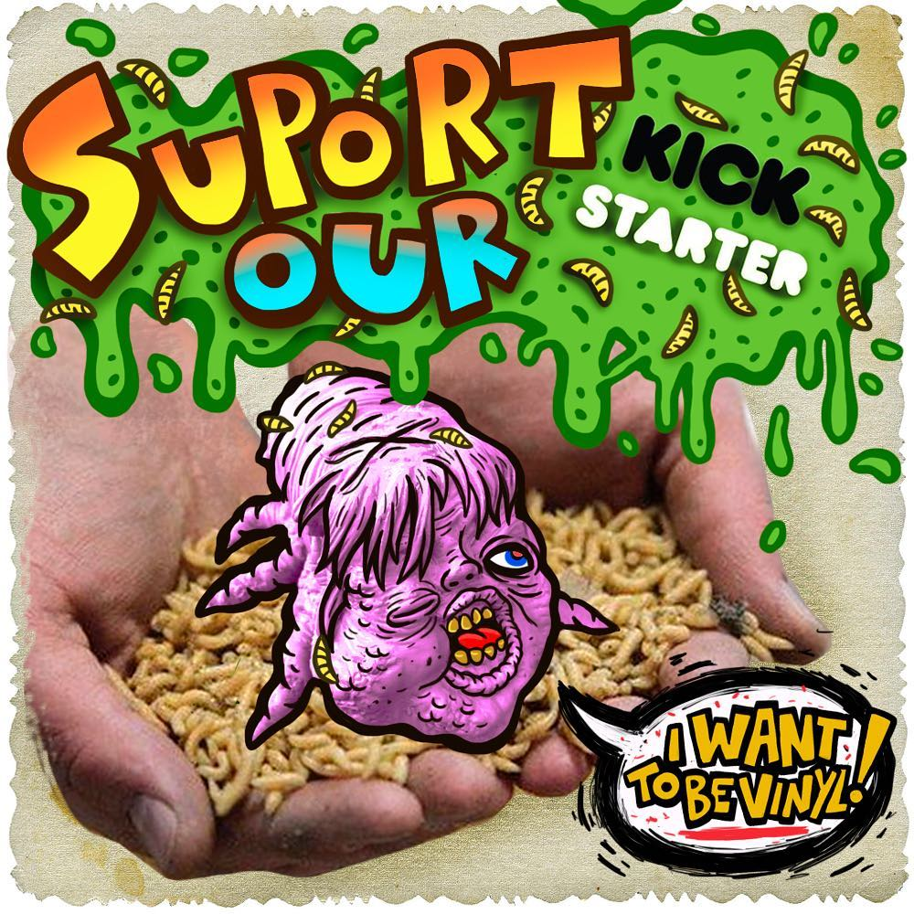 The Cherv Kickstarter Sofubi Acid Ma Phobia Toys