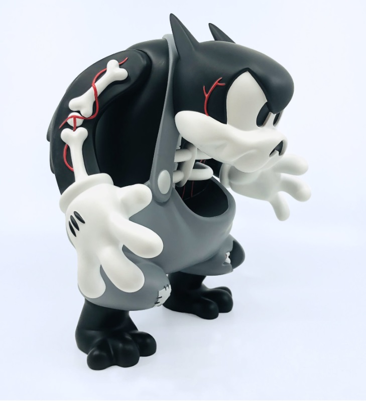 Creepy Badass Cote Escriva Thunder Mates Art Toy