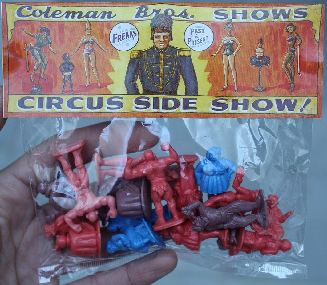 Freakshow Miniatures Set de Betterdaystoys Resin Toys Art Toys