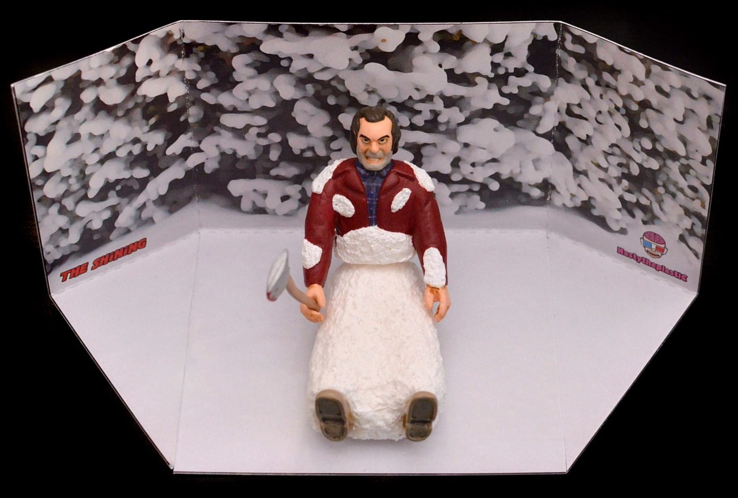 Frozen Jack The Shining Nastytheplastic Resin Toy Art Toy