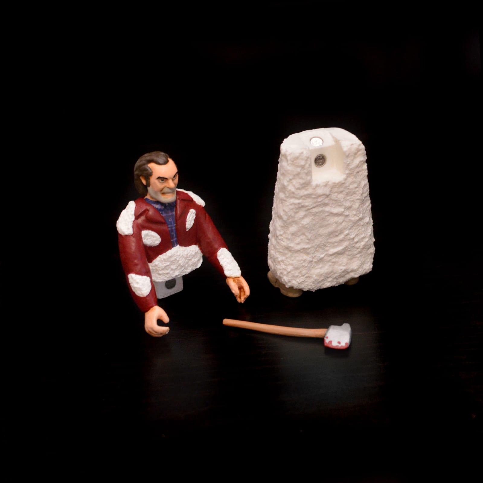 Frozen Jack The Shining Nastytheplastic Resin Toy Art Toy