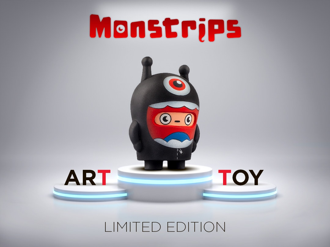 Monstrips LEO Art Toy Jhon León (7)