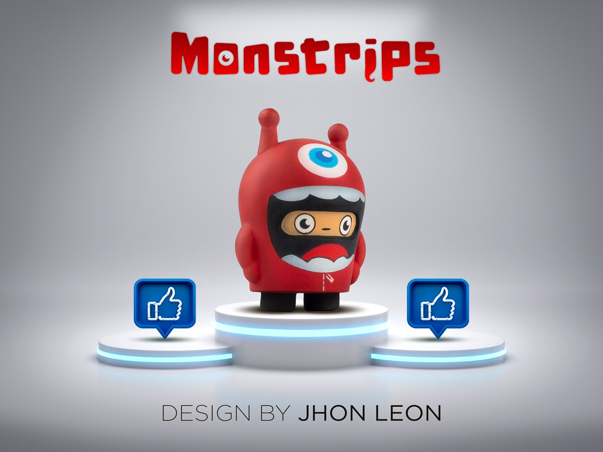 Monstrips LEO Art Toy Jhon León (8)
