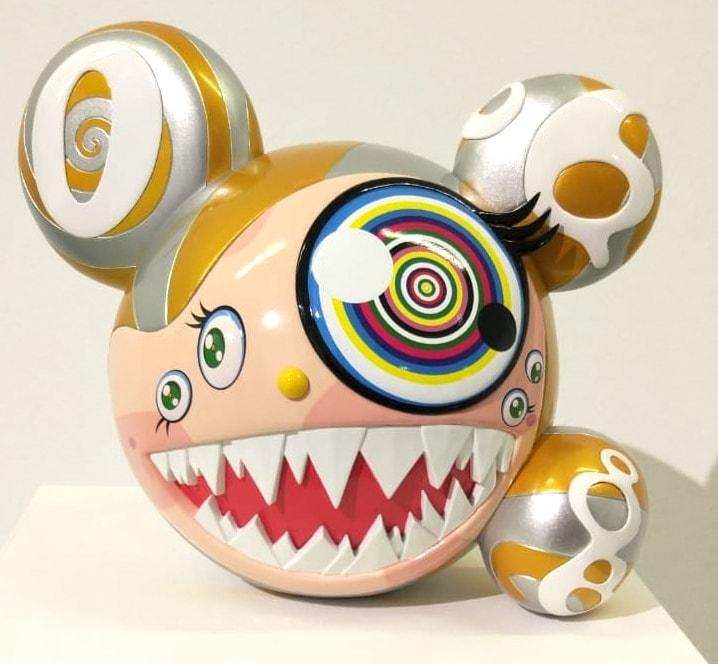 Takashi Murakami Mr. Dob Gold - 3 Punts Galeria