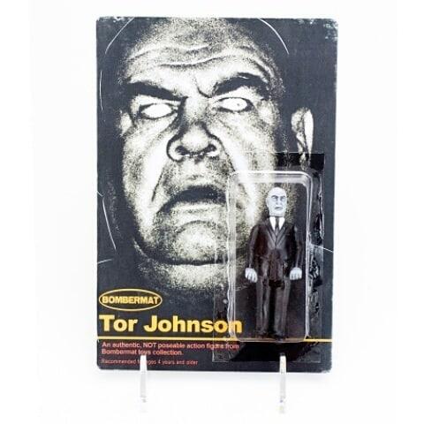 Tor Johnsoh Bombermat Toys Bootleg Resin Toy