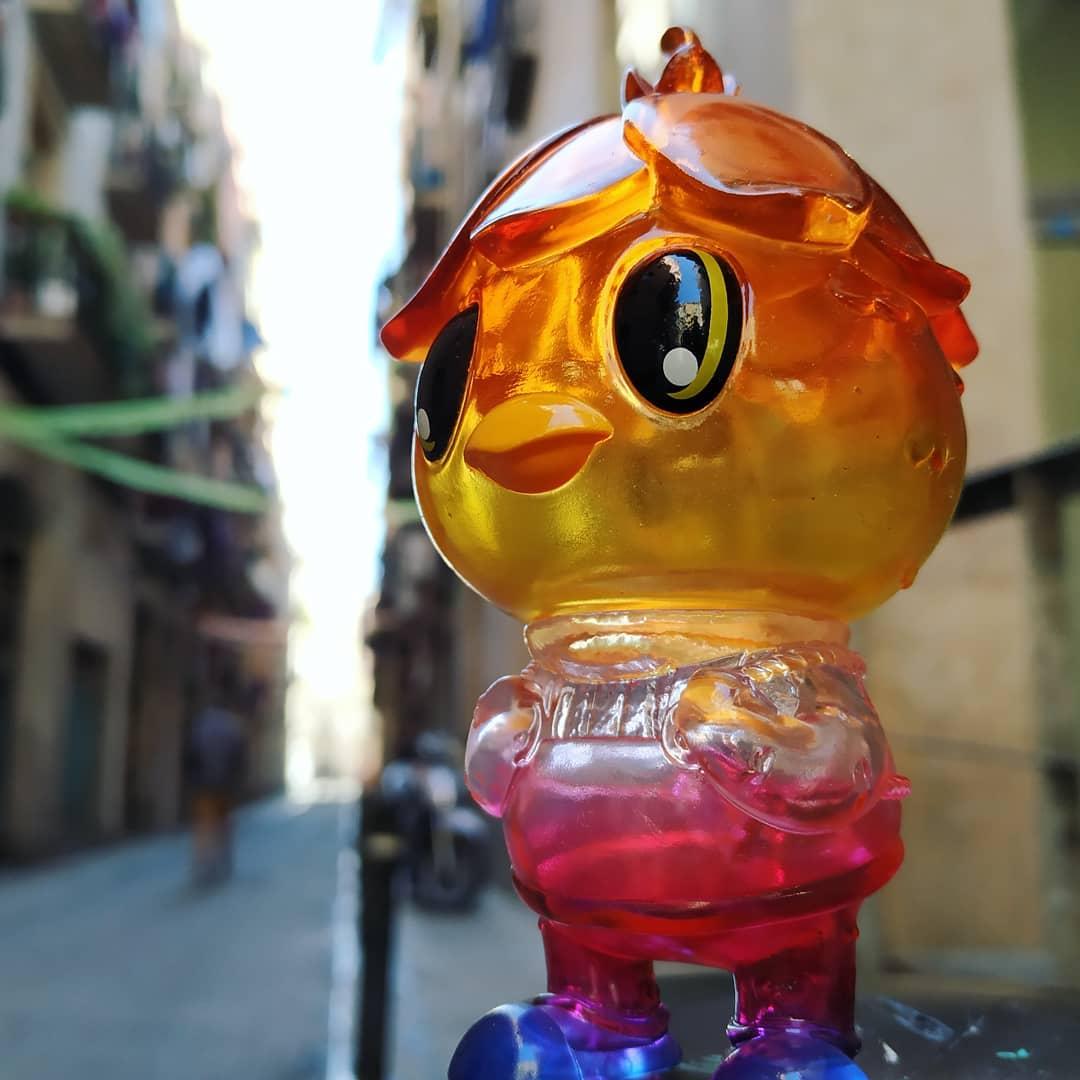 Watari Kappa (Clear Rainbow) de StickUp Monsters (Javier Jiménez y Cristina Ravenna)
