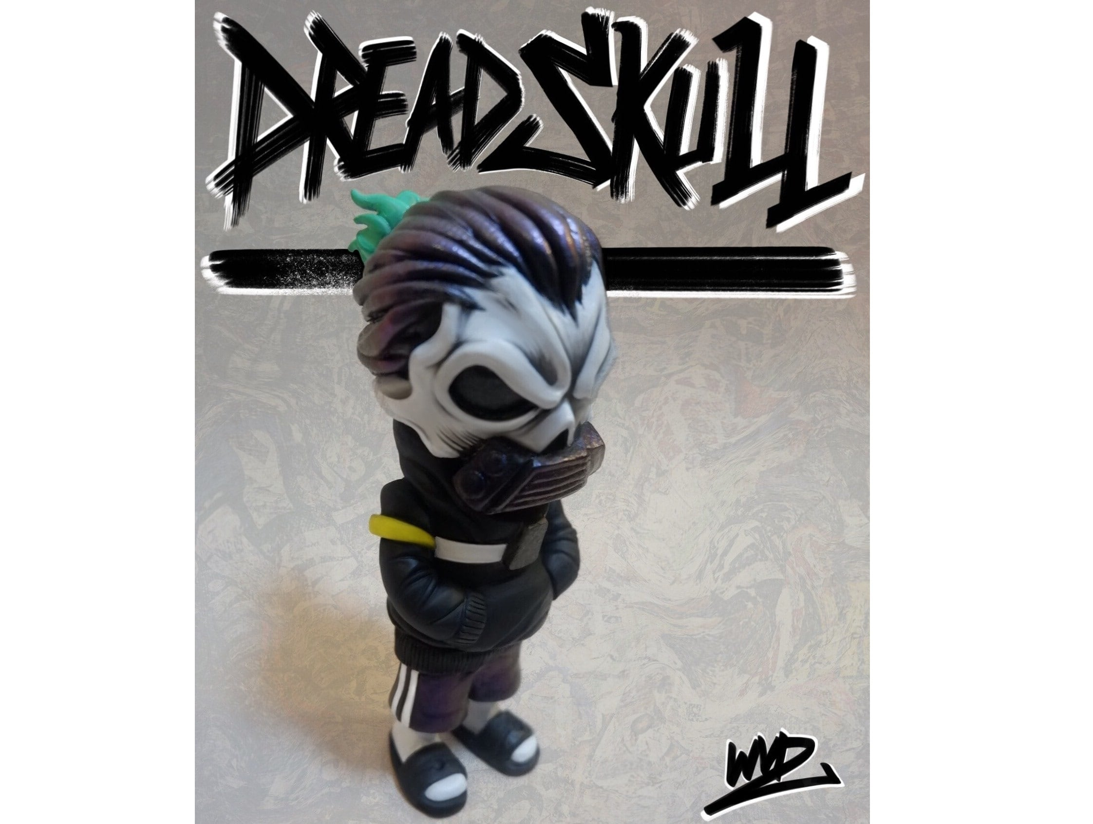 Dread Skull (original edition) de WeirdVader (WVD) Art Toy