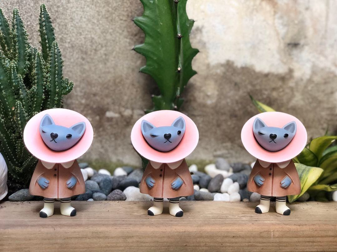 Nora Boof Fufufanny Kao Resin Toy