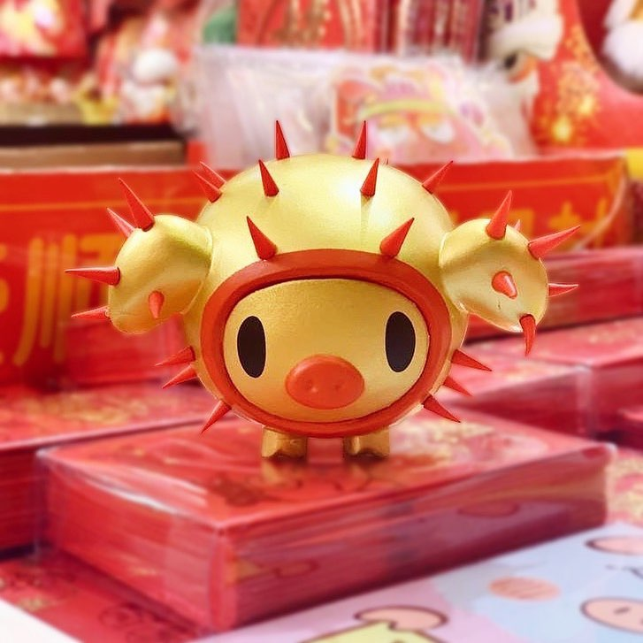 Tokidoki Year of the Pig Porcino-min