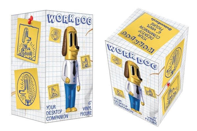 Work Dog Sofubi Vincent Scala Kickstarter Art Toy