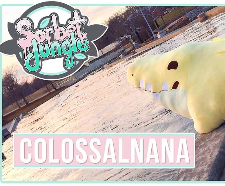 Colossalnana Croconana Sorbet Jungle Kickstarter Plush Toys Peluche Art Toy