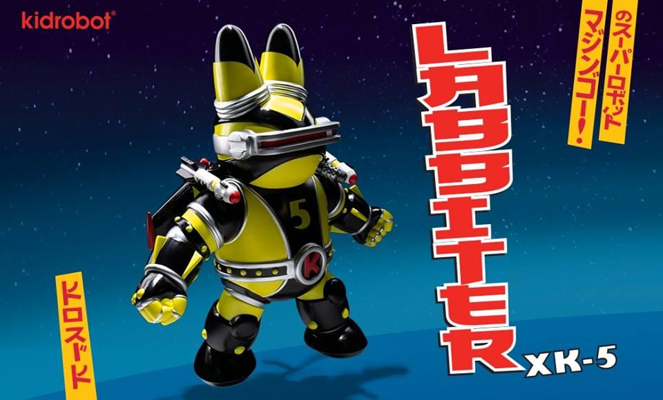 Labbiter Frank Kozik Kidrobot Art Toy