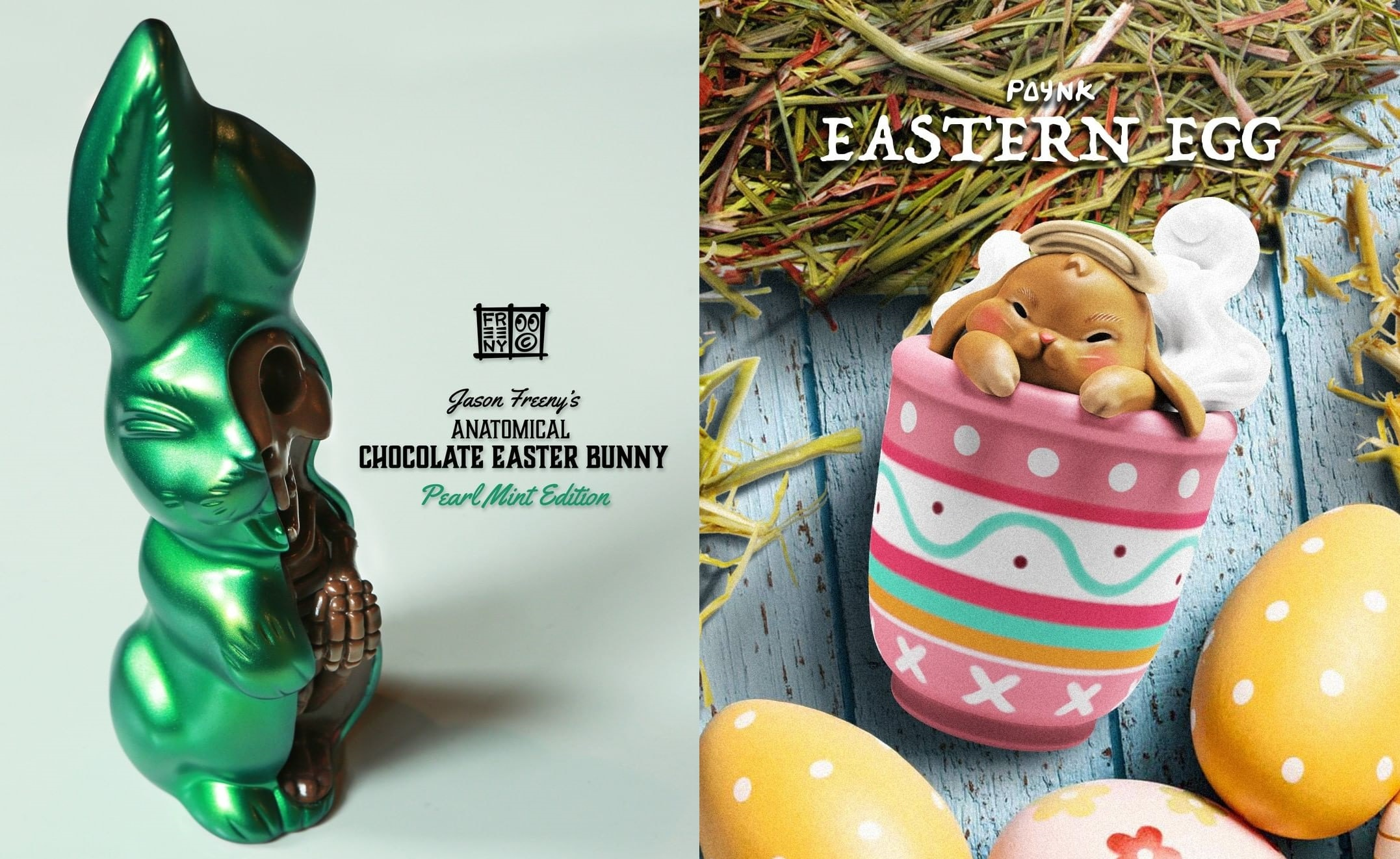 Portada Anatomical Chocolate Eastern Bunny Jason Freeny Paynk Eastern Egg Mighty Jaxx