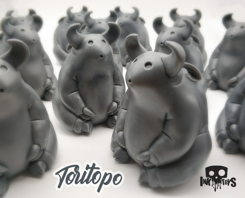 Toritopo Inktoys ARt Toy Resin Toy