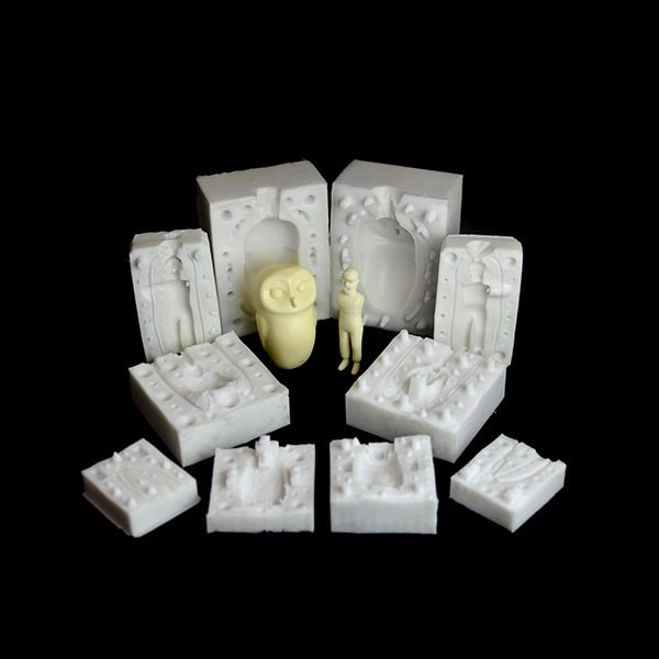 Curso Moldes Silicona Resina Nastytheplastic Expo Toys BCN