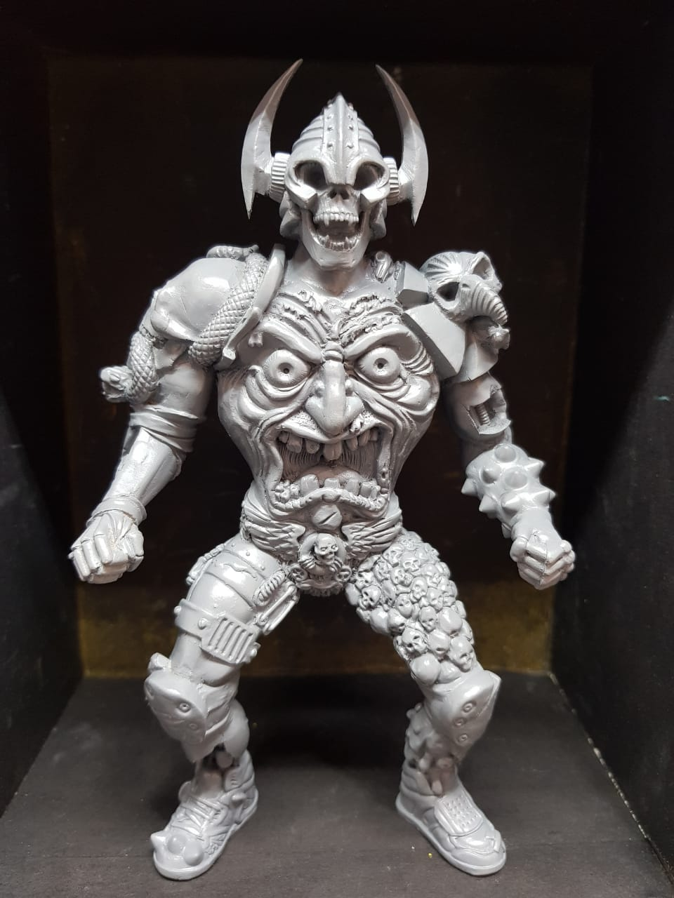 SKATOR EVIL RIDER OF THE OLD SCHOOL Kalaka Toys Resin Toy Masters of the Universe