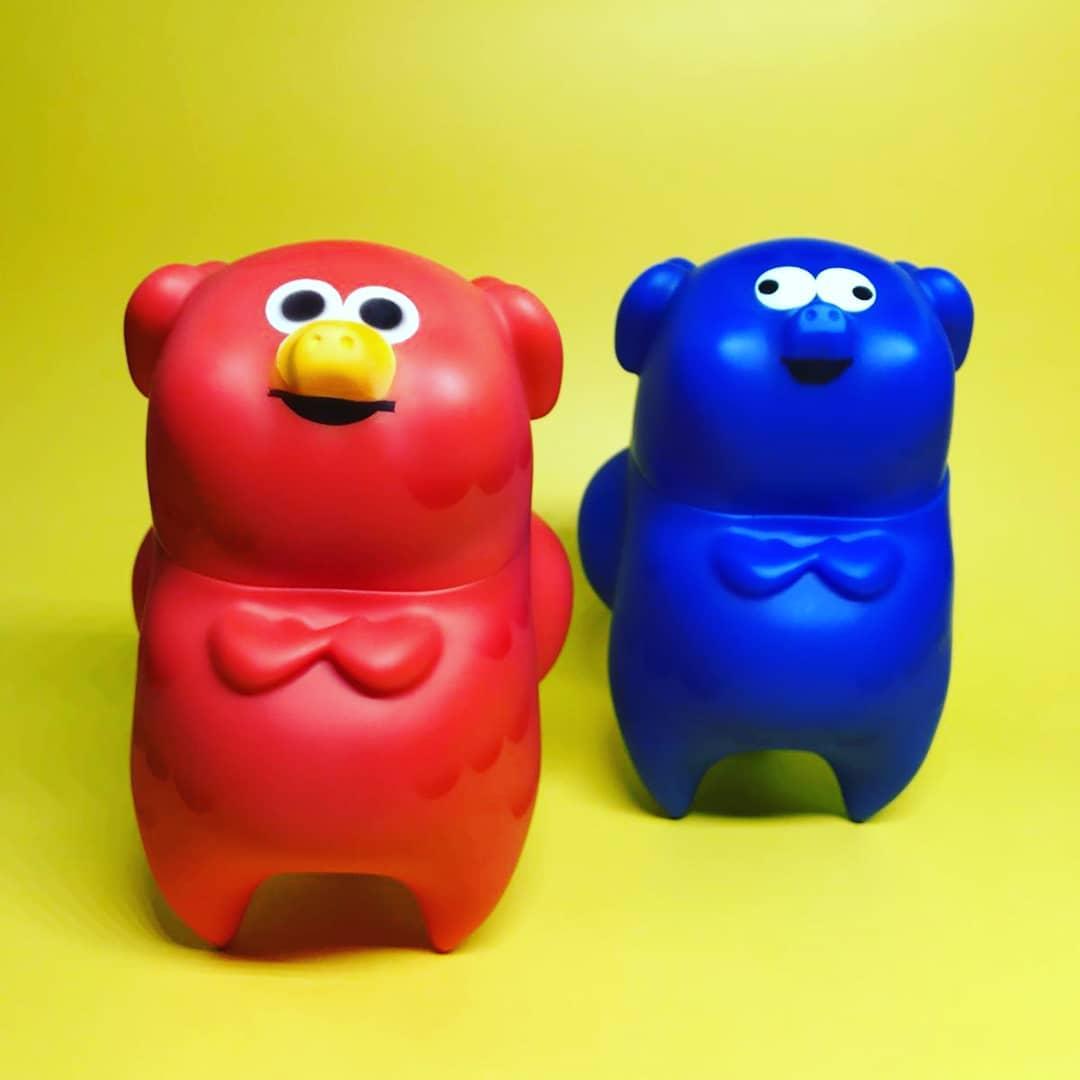 9sadtoy sofubi vinyl toy art toy