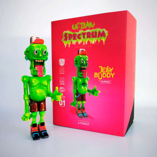 Jelly Buddy Rultron 6 Forest Art Toy Resin Toy