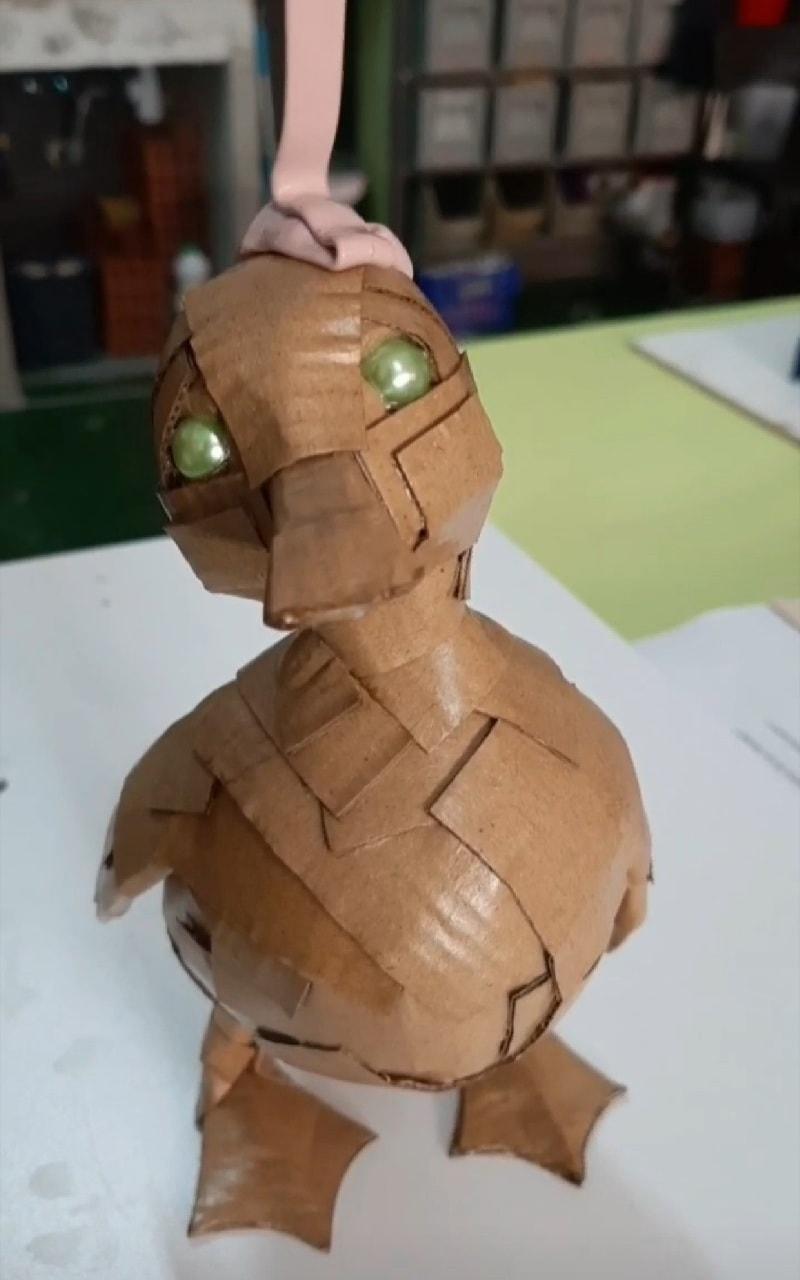 Cova Orgaz Patito Art Toy Resin