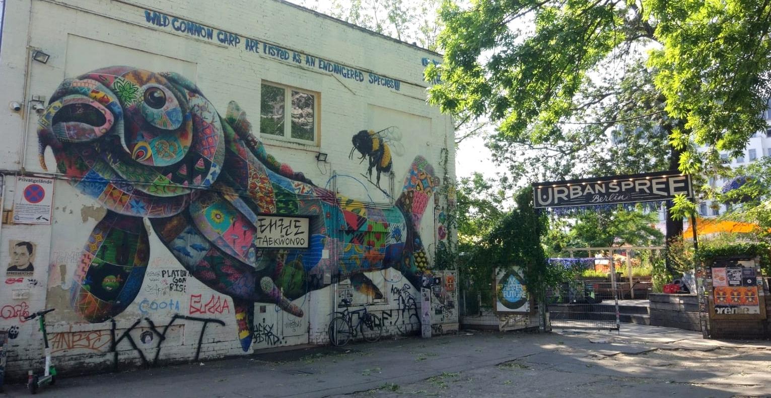 Urban Spree Berlin Urban Art