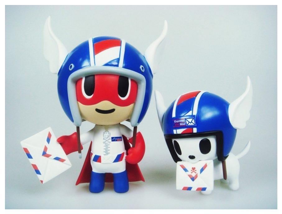 Zip y Cody, Mascota de Tokidoki del correo de Singapur