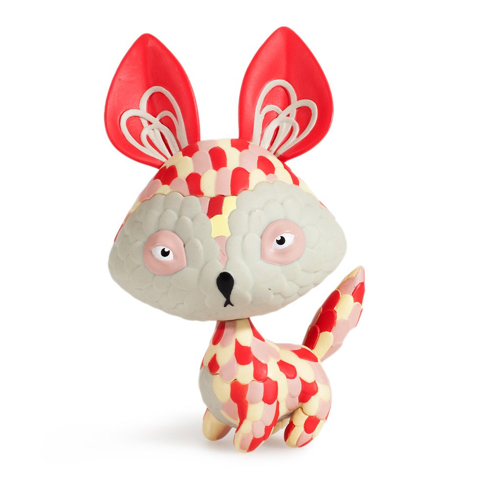 Art Toy de Horrible Adorables Rojo
