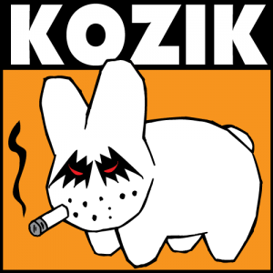 Ilustración de un Labbit de Kozik