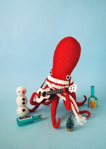 Plush Art Toy Octopus