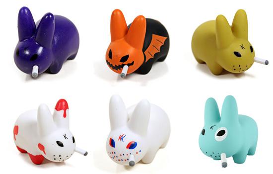 Colección de Art Toys Smorking Labbits