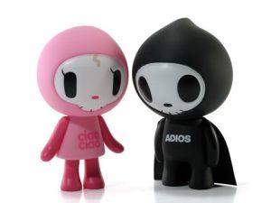 Art Toys de Tokidoki Adios y Ciao Ciao