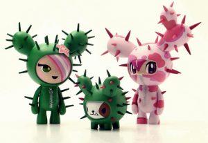 Art Toys Cactus Friends de Tokidoki