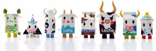 Art Toy de Tokidoki Moofia Milks