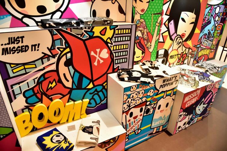 Pop Up Store de Tokidoki
